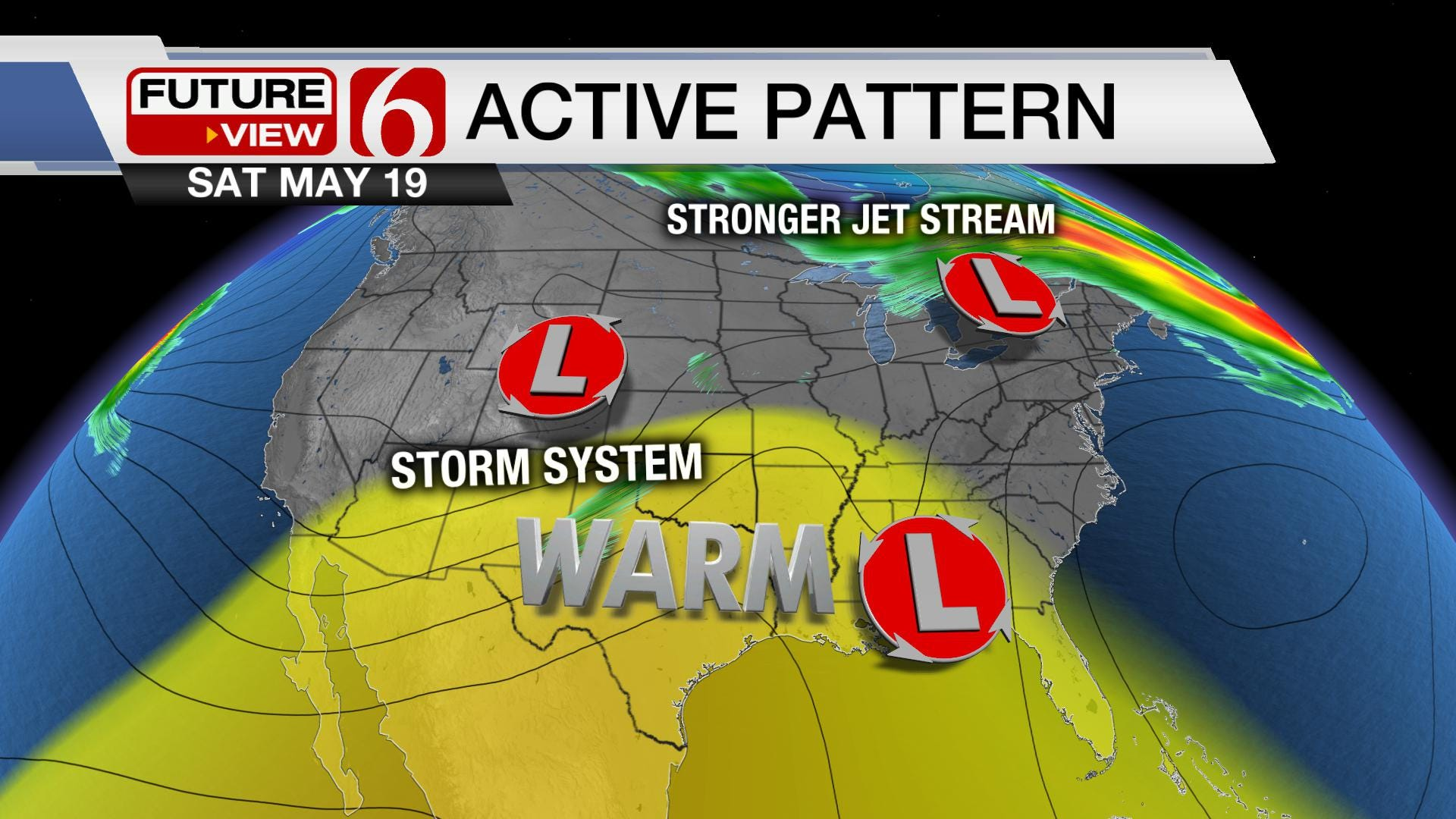 Stormy Pattern Returns Despite Summer Pattern