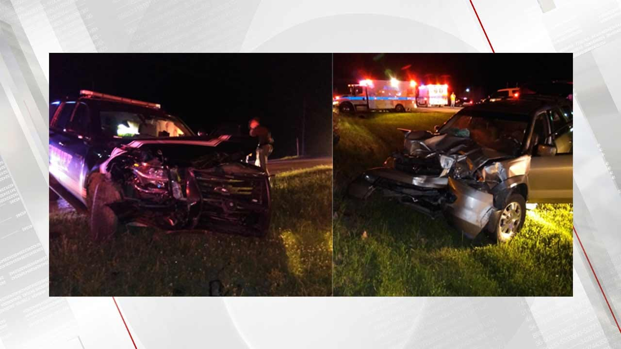 Woman Loses Unborn Child In Crash Involving Mayes County Deputy