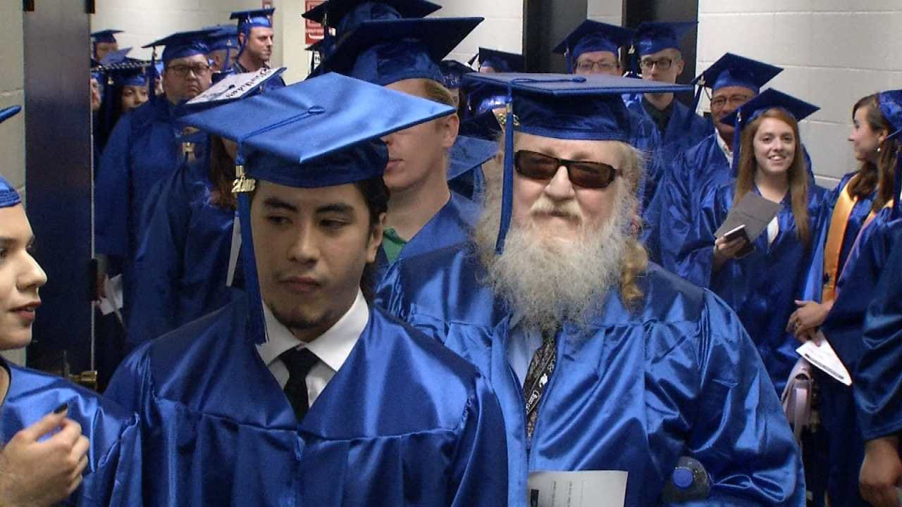 70-Year-Old Tulsa Man Graduates From College