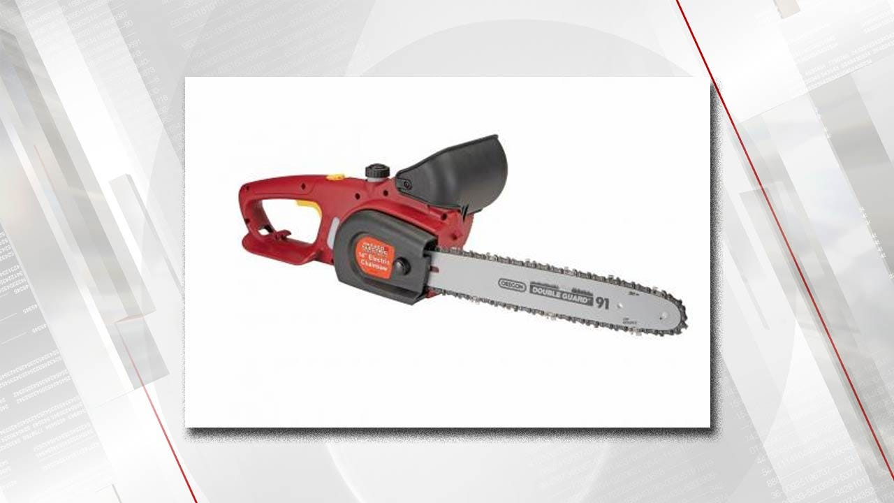 Chainsaws Recalled, Because They Might Not Turn Off