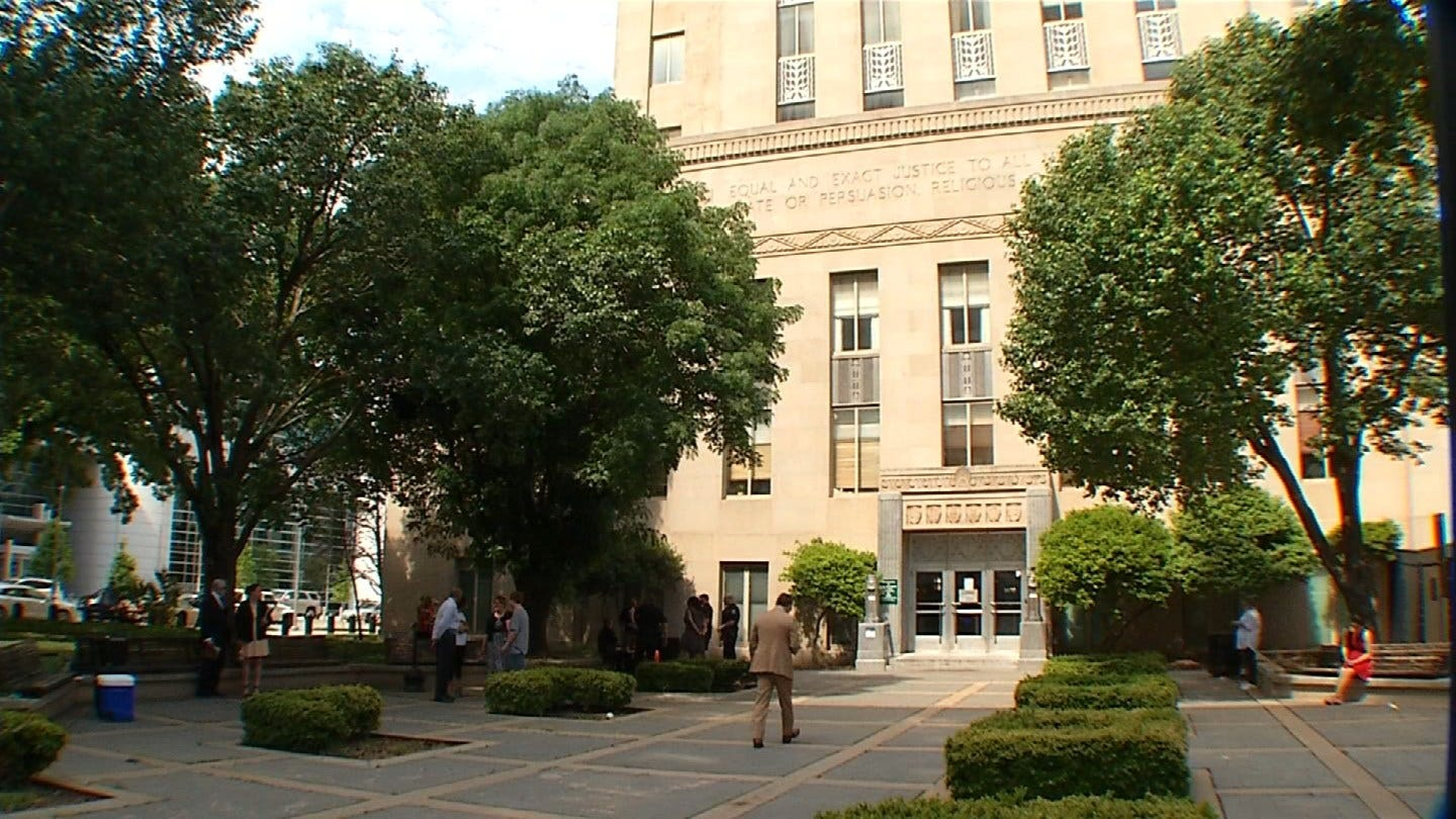 'Me Too' Group Protests Outside Oklahoma County Courthouse