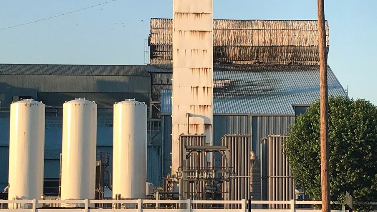 No Injuries Reported After Henryetta Glass Plant Explosion & Fire