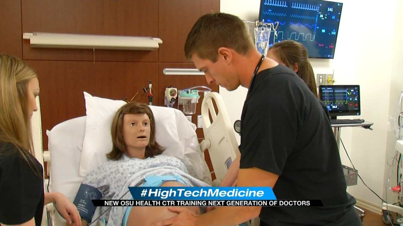 State-Of-The-Art-Mannequins Helping Prepare Future Doctors In Tulsa