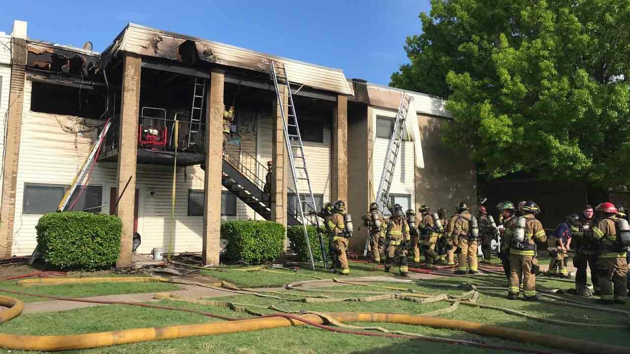 Man Arrested After Tulsa Apartment Fire