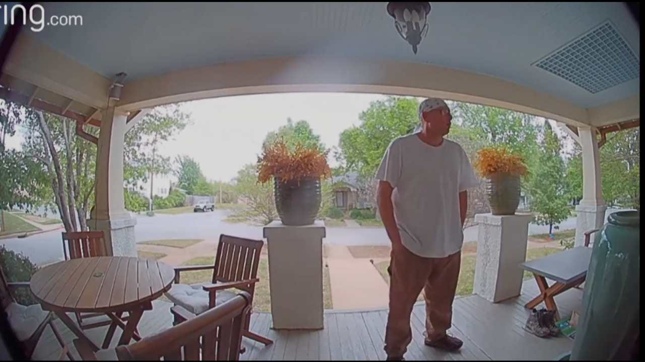 Police: Two Suspected Tulsa Home Burglars Caught On Video