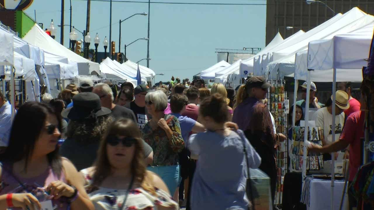 Thousands Expected To Attend Downtown Tulsa Festivals
