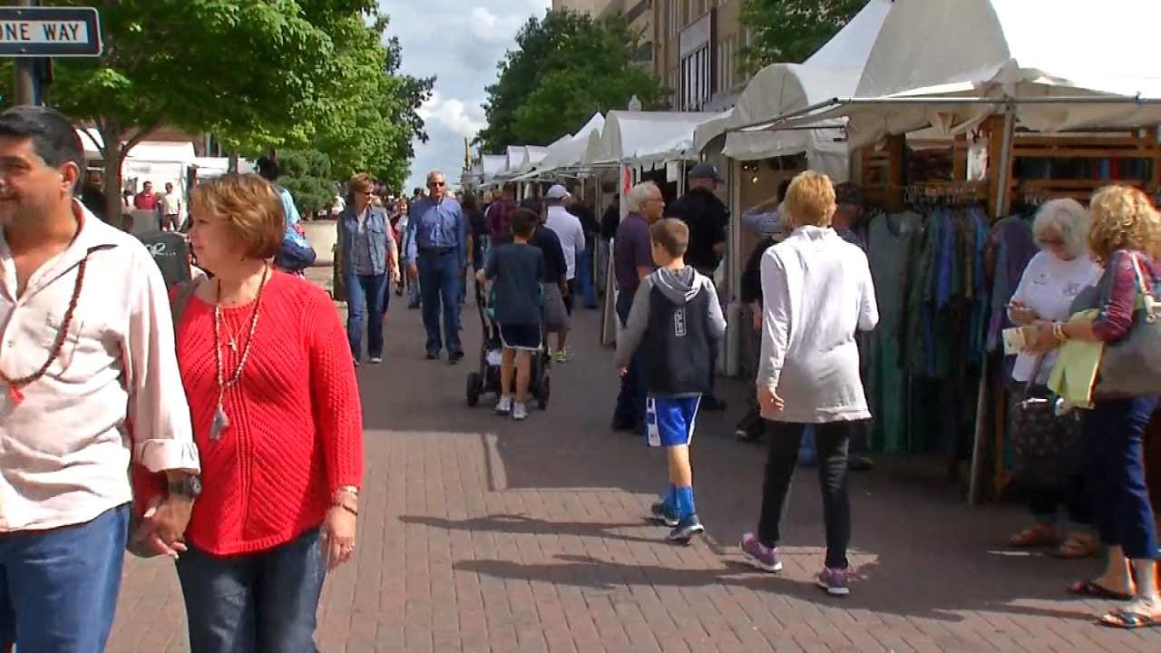 Three Festivals Underway This Weekend In Downtown Tulsa