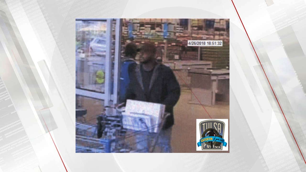 Tulsa Police Looking For Suspect Using Stolen Credit Cards