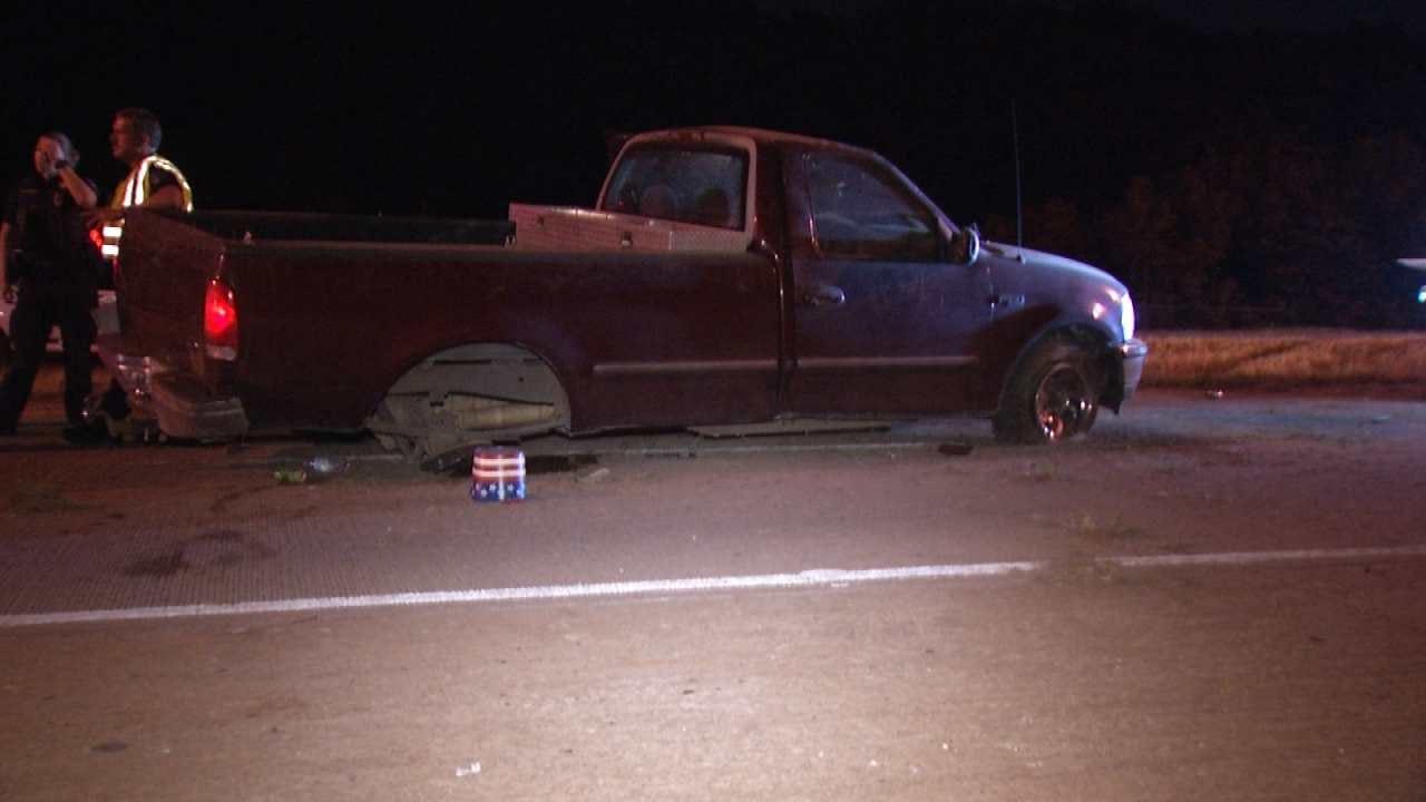 Woman Injured In Tulsa Tisdale Expressway Crash