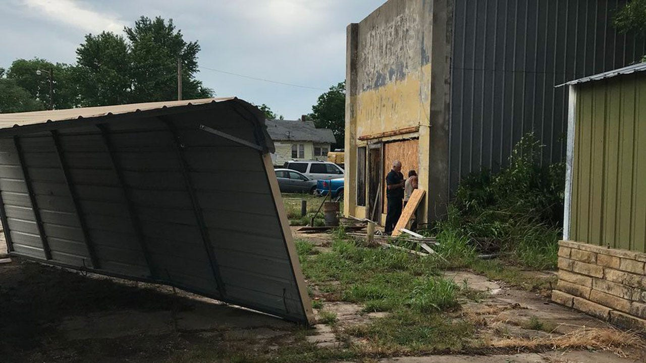 Severe Weather Rips Through Osage County