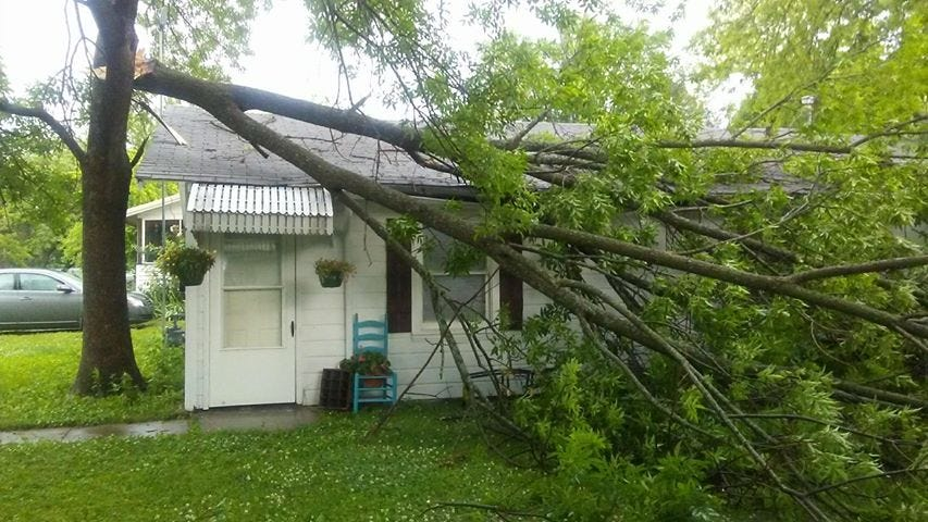 Severe Weather Sweeps Across Northeast Oklahoma