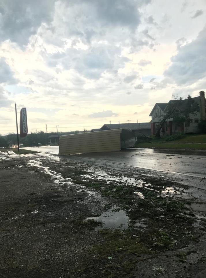 Severe Weather Sweeps Across Northeast Oklahoma