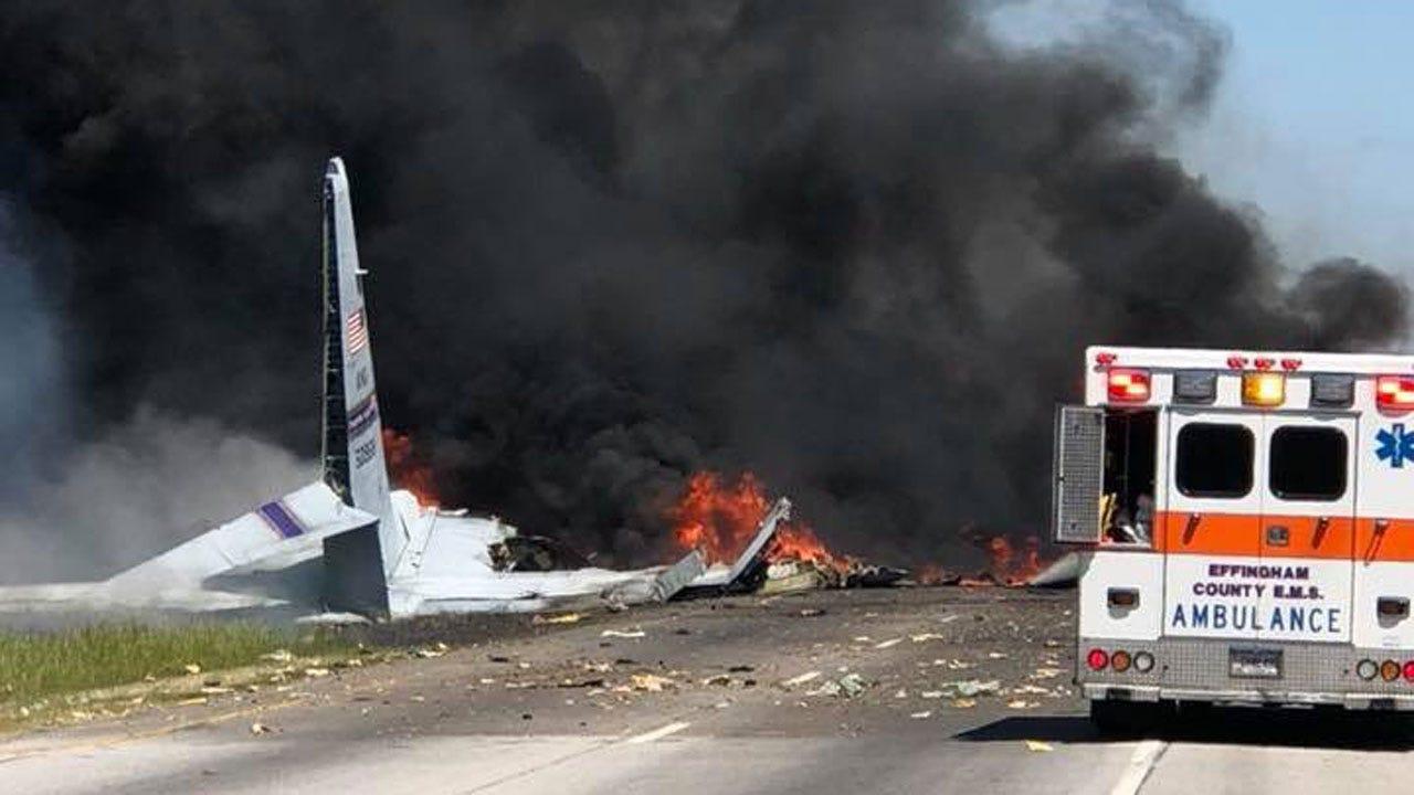 At Least 5 Dead In Military Plane Crash In Georgia