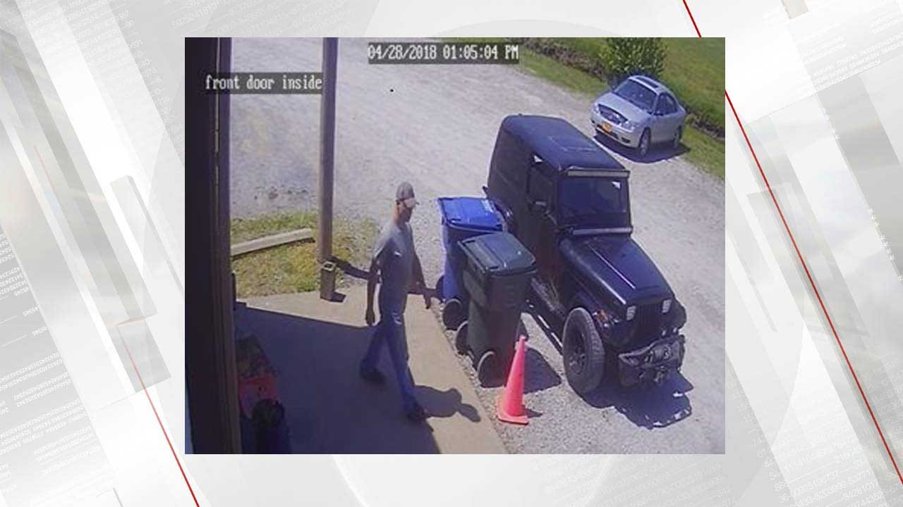 Auto Shop Theft Caught On Camera, Police Searching For Suspect