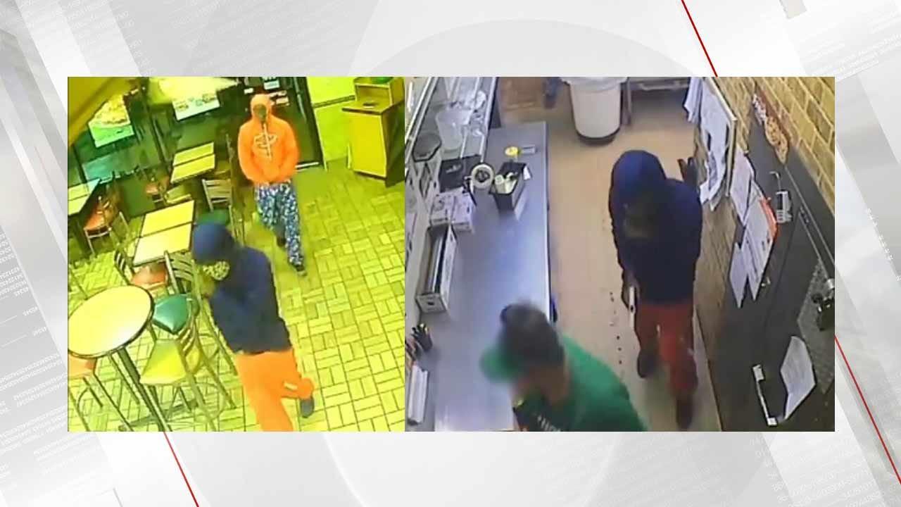 Muskogee Police Need Help Identifying Robbers
