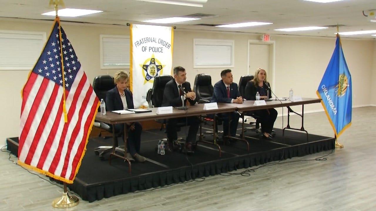 Tulsa County District Attorney Candidates Participate In Debate