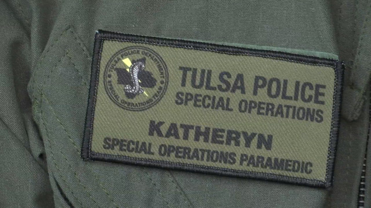 Tulsa Woman Becomes TPD Special Operations Team's 1st Female Tactical Paramedic