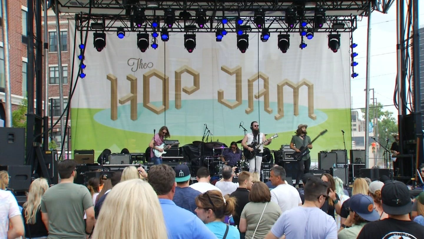 Hop Jam Beer And Music Festival Underway In Tulsa