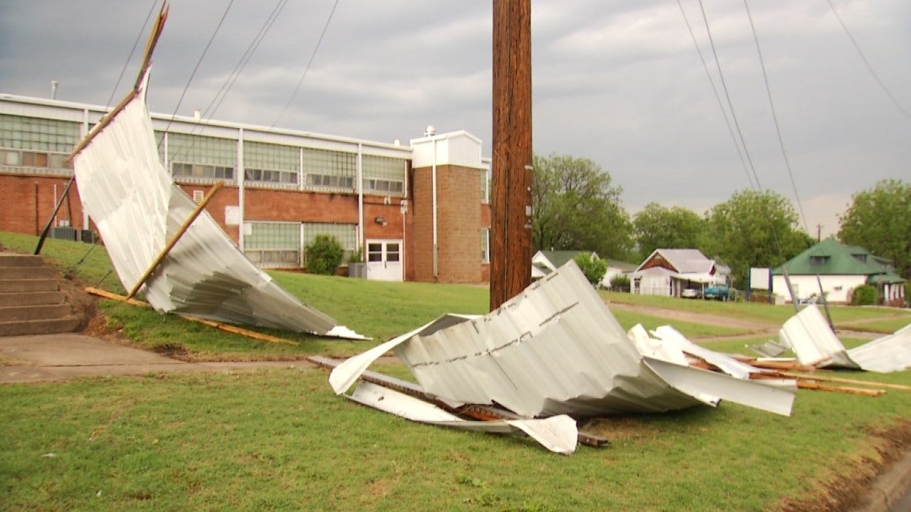 NWS: Straight-Line Winds Caused Damage In Fairfax