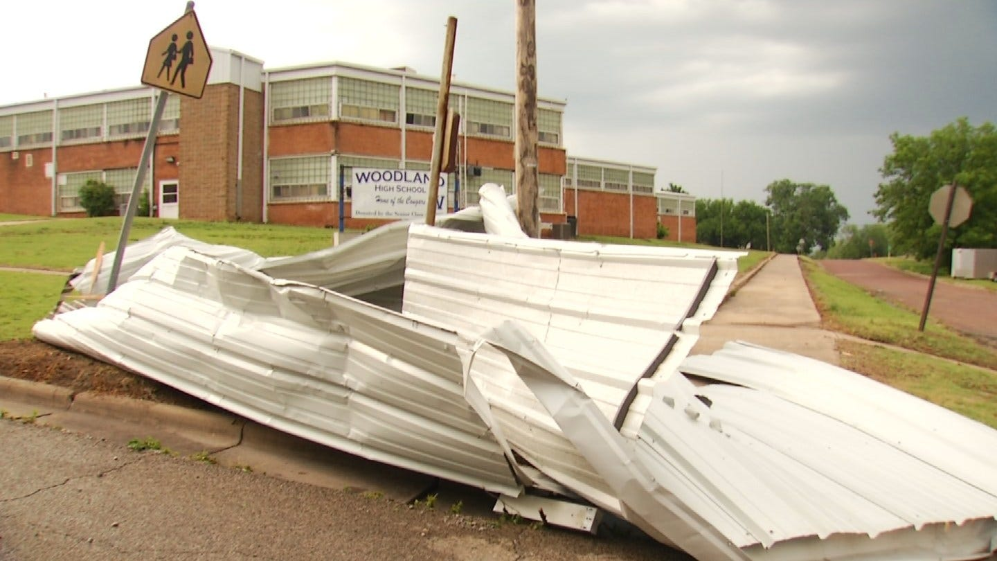 Severe Winds Create Big Mess For Fairfax Residents