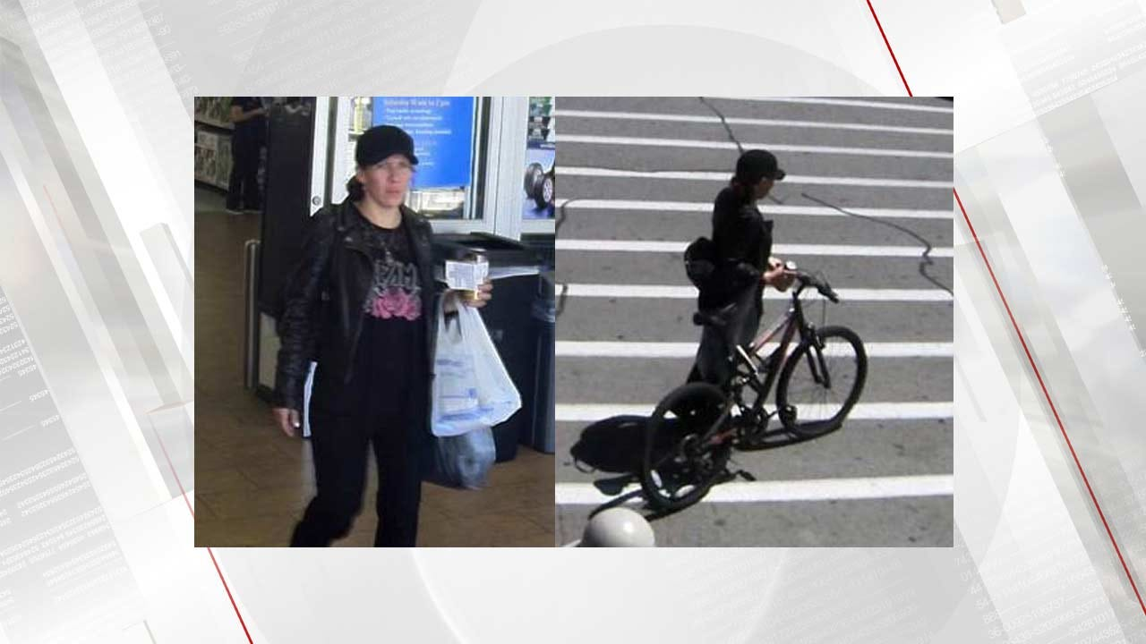 Jenks Police Need To Identify Stolen Credit Card Suspect
