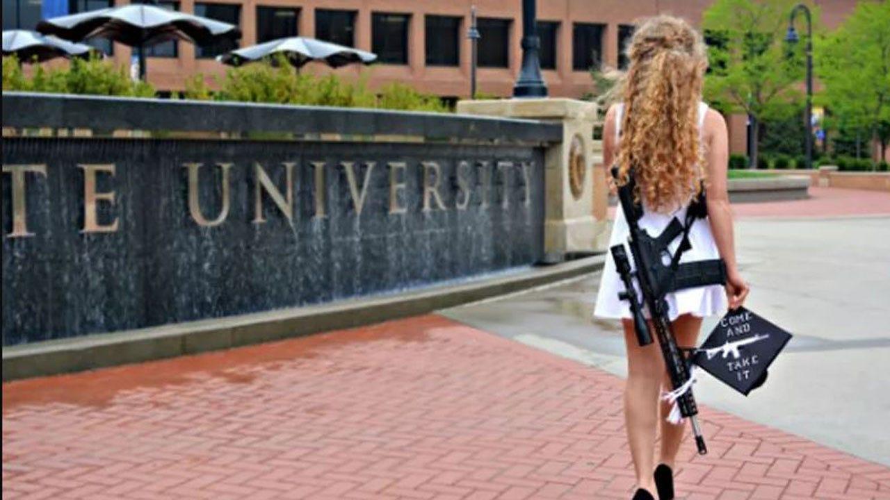 "Jim Carrey Posts ""Devil"" Cartoon In Response To Graduate's Gun Photo"