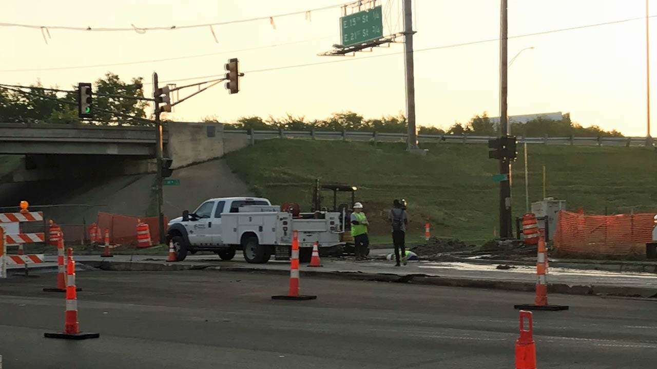 Lewis Reopened After Crew Cuts Natural Gas Line Near The BA Expressway