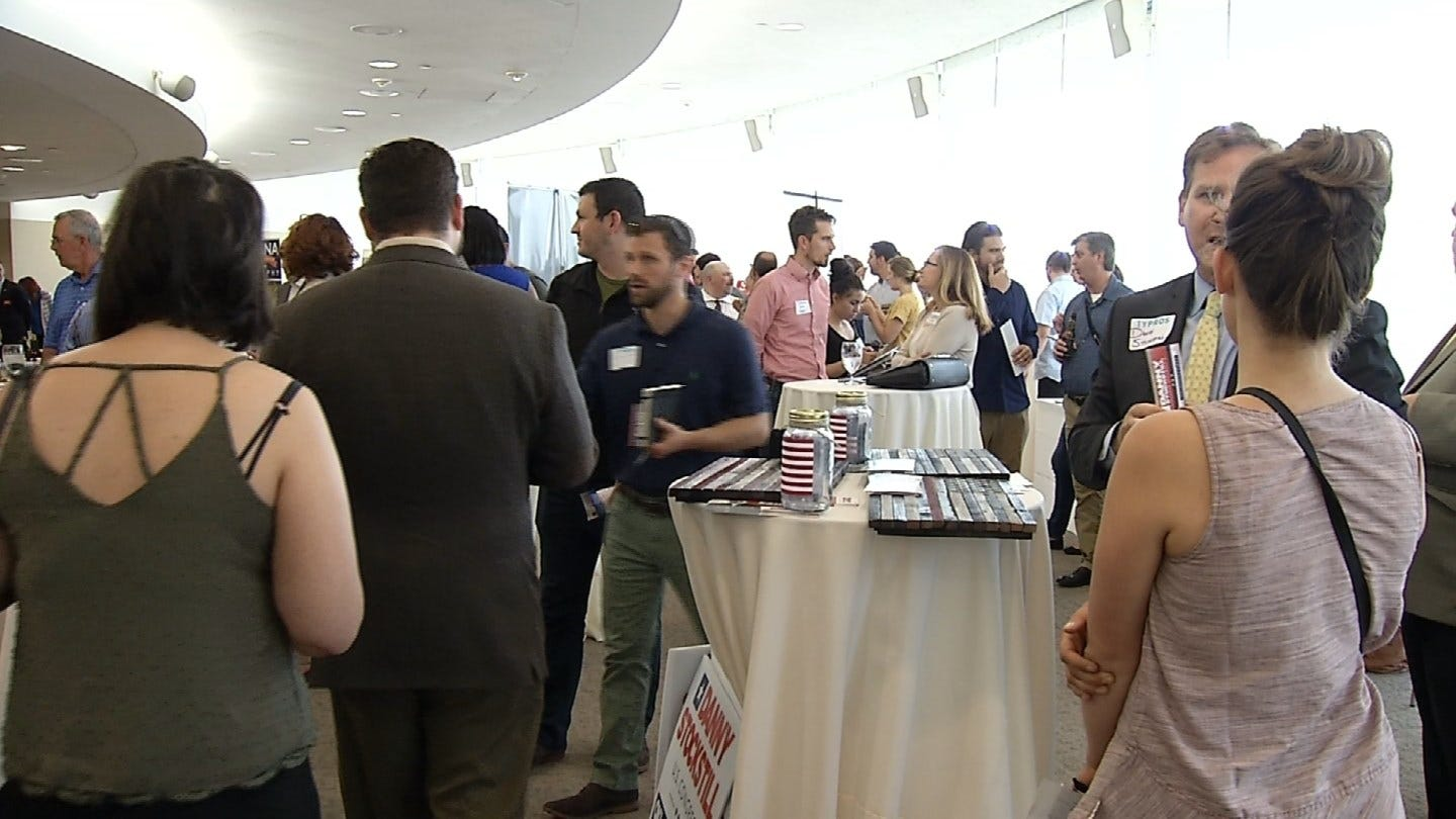 TYPros Hosts Meet And Greet With Candidates