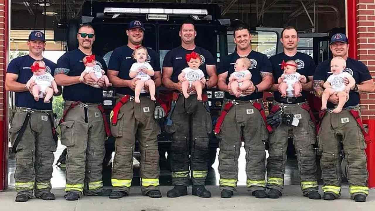 Glenpool Firefighter 'Baby Boom' Getting National Attention