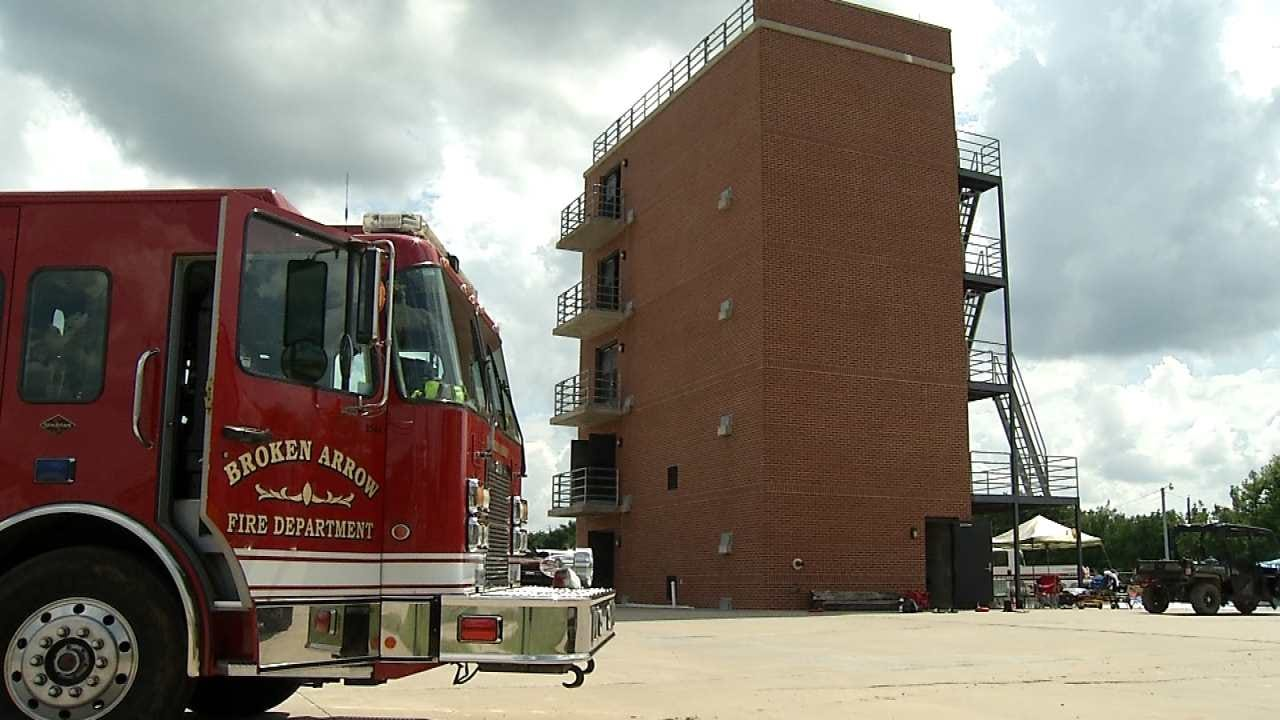 Broken Arrow Firefighters Training To Save Other Firefighters