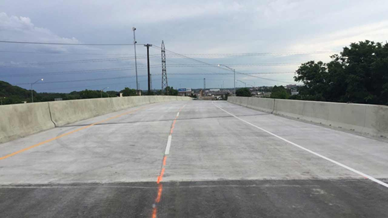 Highway 75 Opens Over Southwest Boulevard In Tulsa