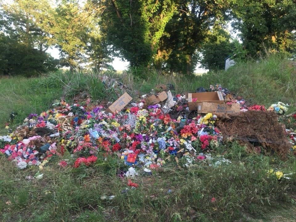 Mannford Families Outraged After Graveside Items Removed