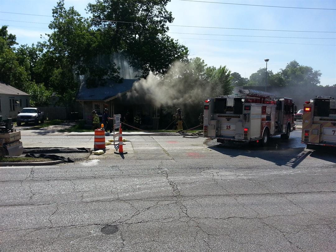 Tulsa Fire Department: No Injuries In Tulsa House Fire