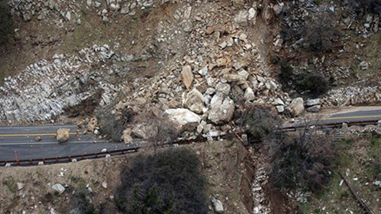 Woman Survives 700-Foot Plunge Off Southern California Mountain Road