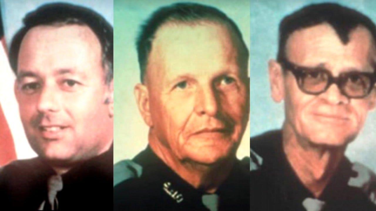 OHP Rededicates Memorial To Fallen Troopers In Bryan County