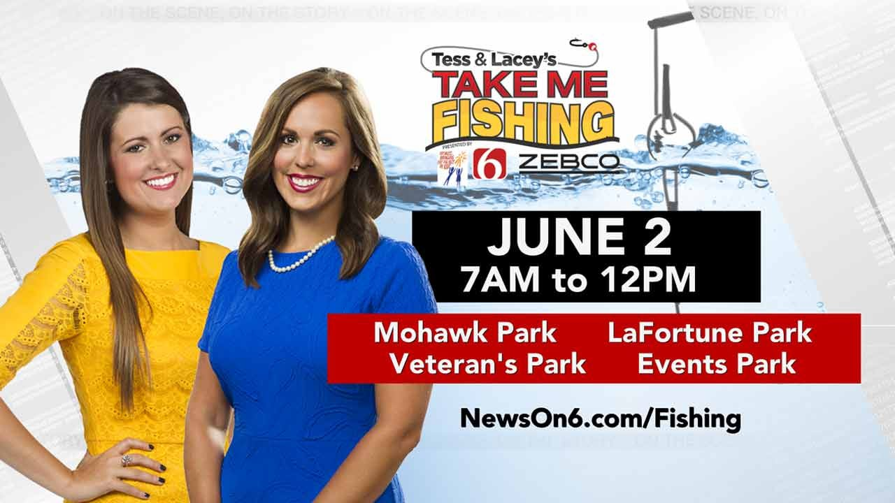 Go Fishing With Lacey Swope And Tess Maune