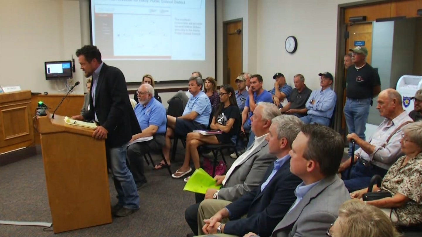 Some Bixby Residents Oppose Plan To Put Large Power Lines On Their Land