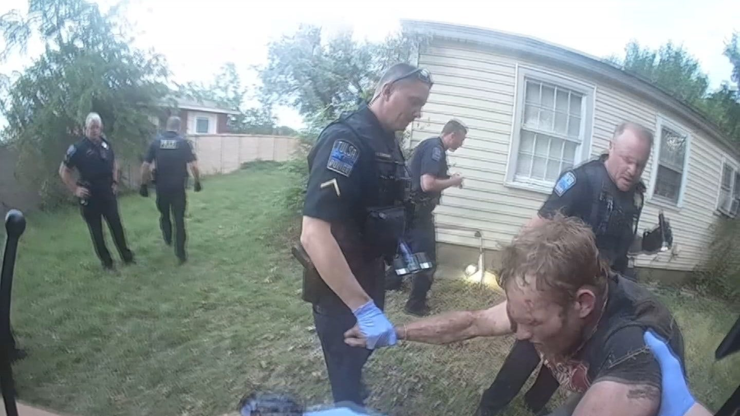 TPD Releases Body Cam Footage Of Chase Turned Manhunt