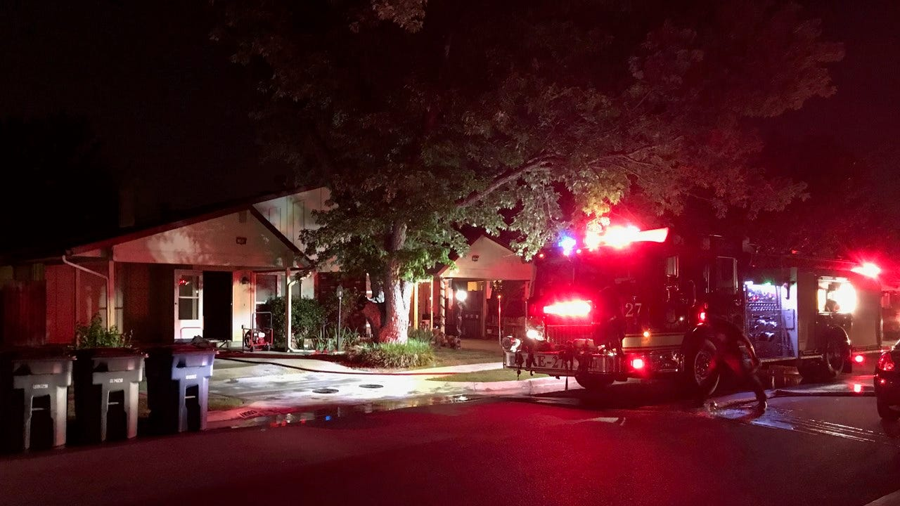 Two Dogs Rescued From House Fire In Tulsa