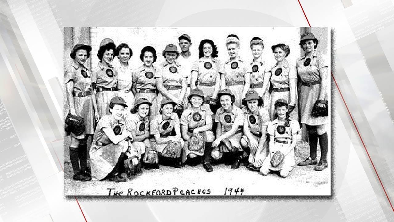 Adair County Little League Team Honors The 'Rockford Peaches'