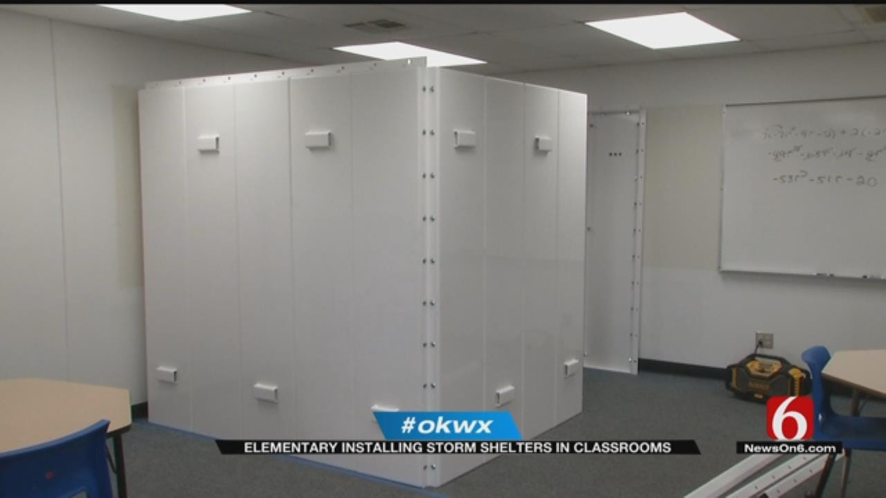 Bartlesville School Adds Storm Shelters To Classrooms