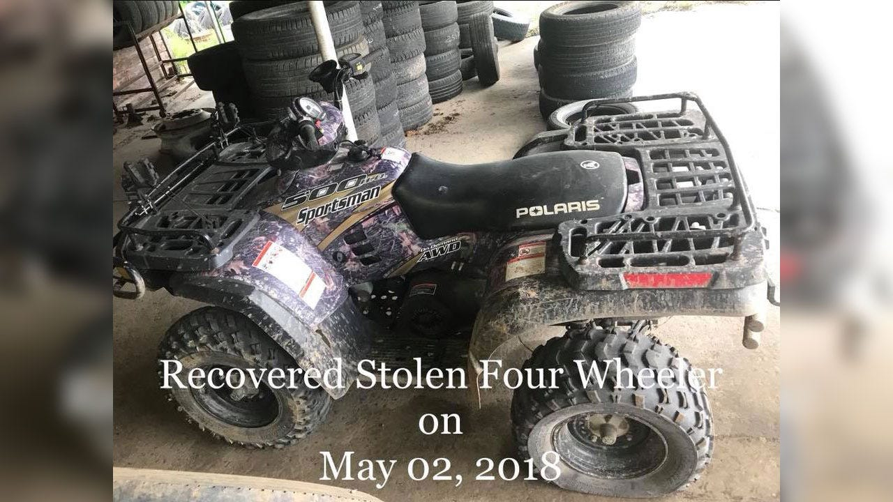 Haskell County Man Admits To Stealing ATV, Says He Needed Ride