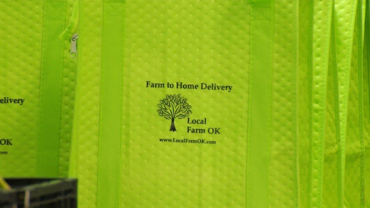 Oklahoma Farm Brings Fresh Produce To Customer Doorsteps