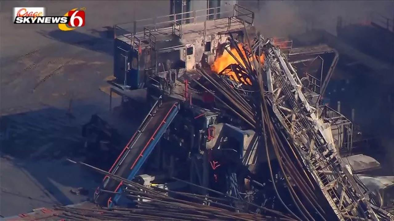 Pittsburg Co. Gas Rig Blast Victims Died Of Burns, Smoke Inhalation