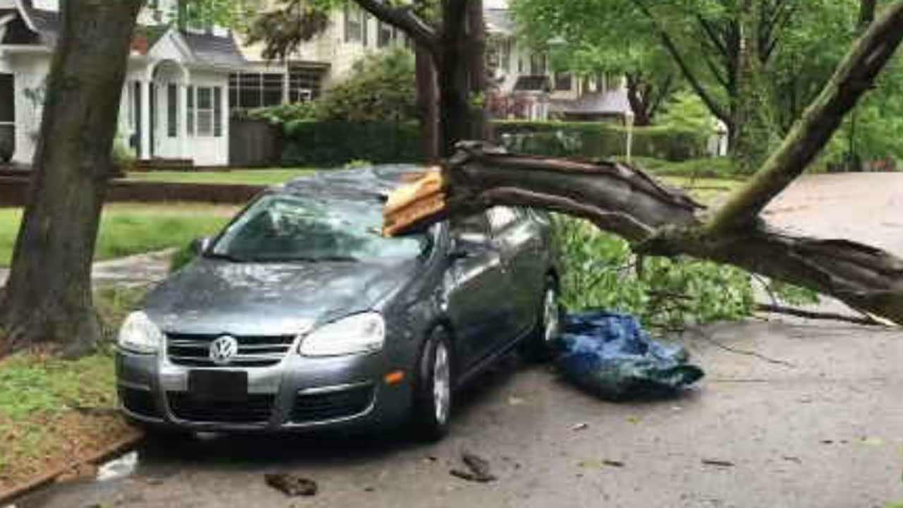 Straight-Line Winds Blamed For Tulsa Storm Damage