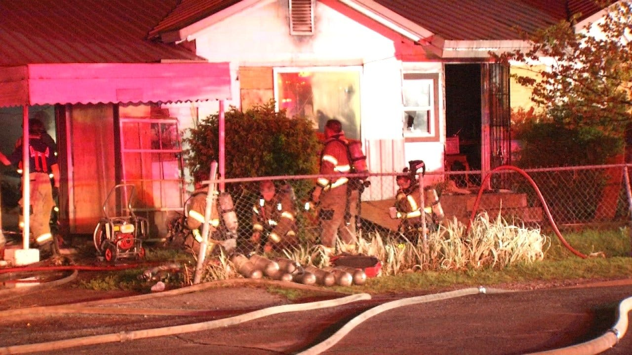 TFD: Lightning May Be To Blame For Tulsa House Fire