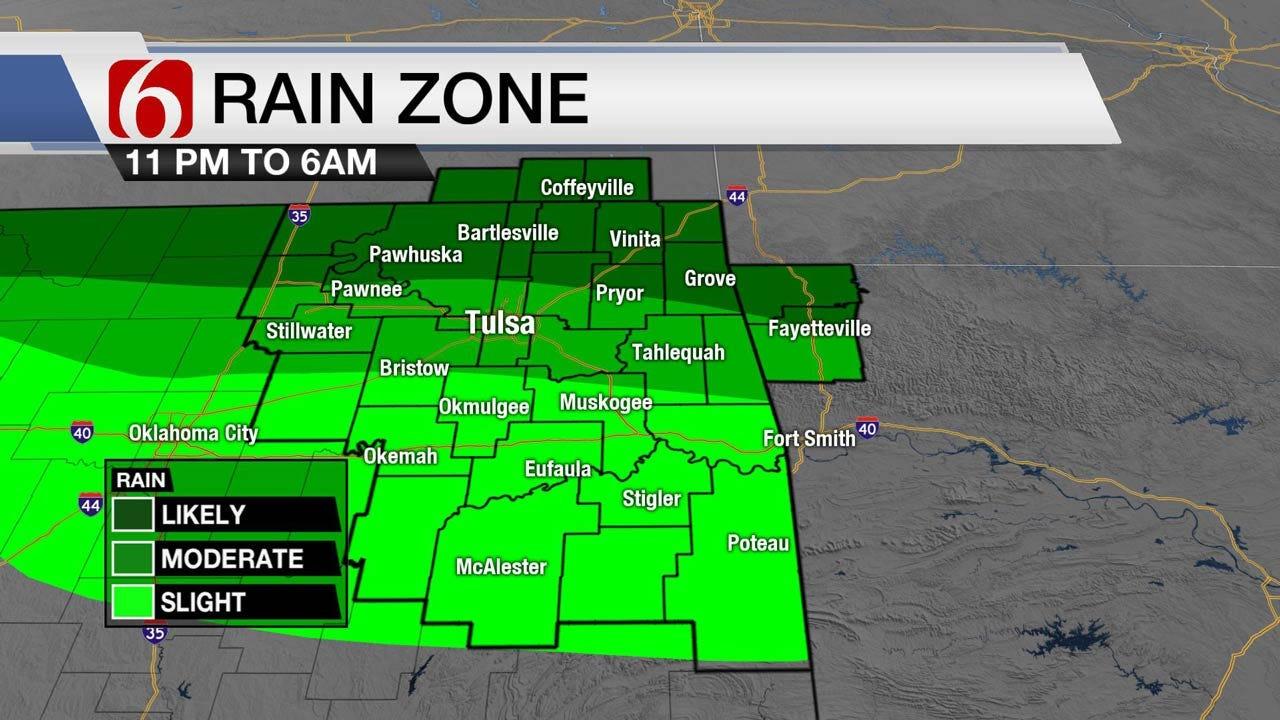 Hot, Humid Wednesday Across Eastern Oklahoma