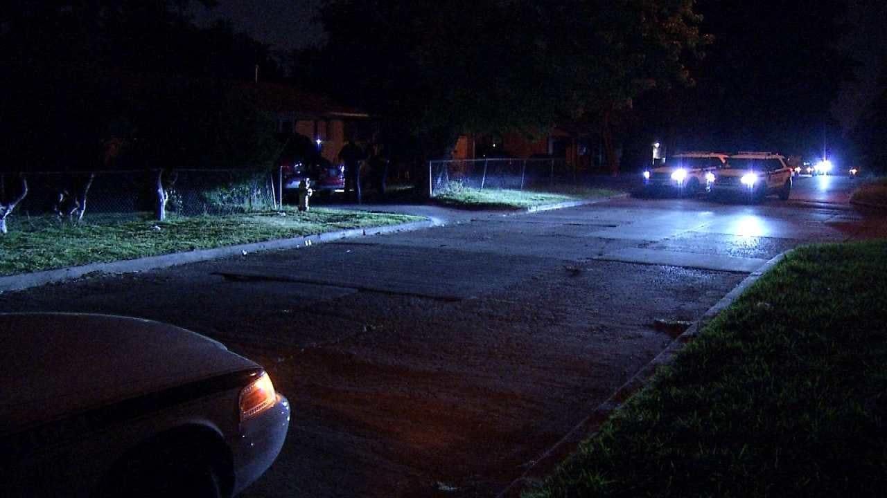 Man Shot While Sitting On His Tulsa Home's Porch, Police Say