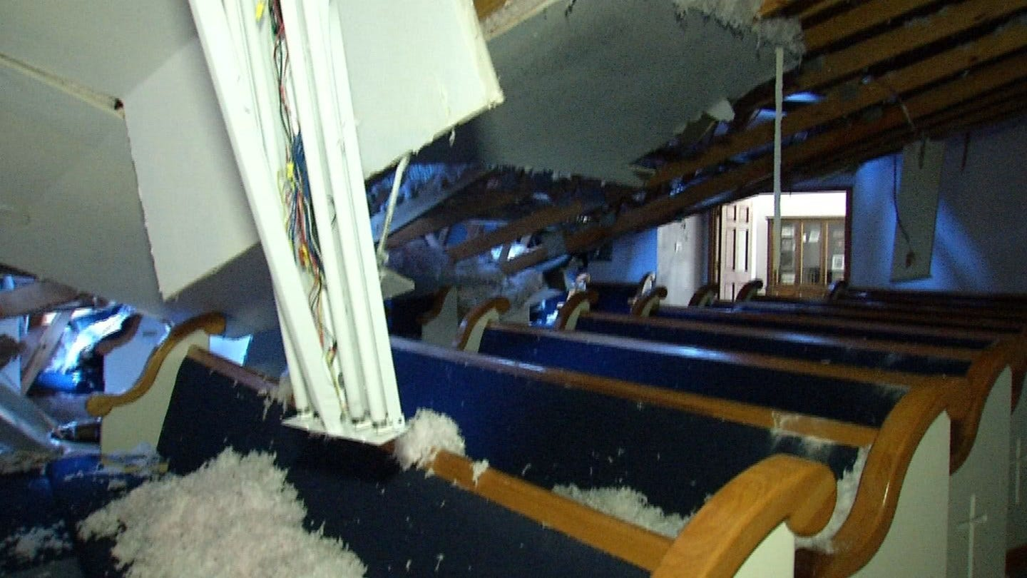 Sapulpa Church Damaged For 2nd Time In One Month