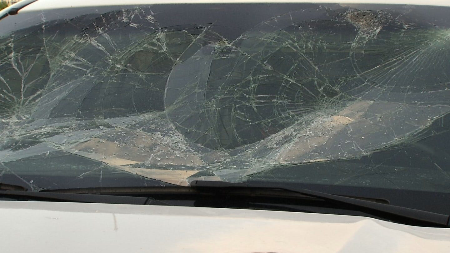 Suspect Smashes TPS Patrol Car Windshield During Fight, TPD Says